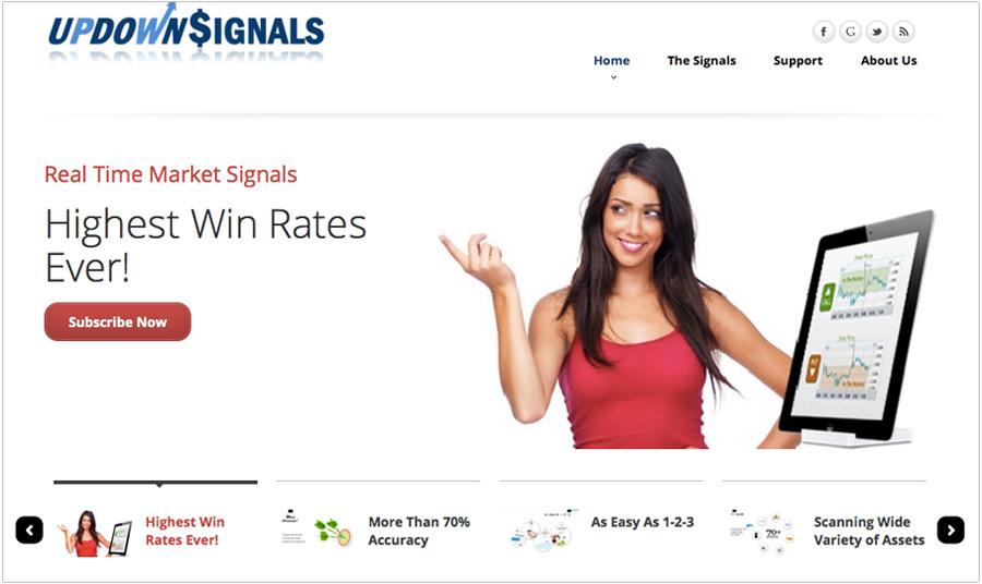 UpDown Signals screenshot