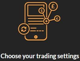 Choose Trading Settings