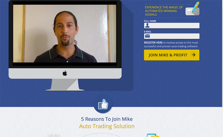 Mike`s Auto Trader Screenshot