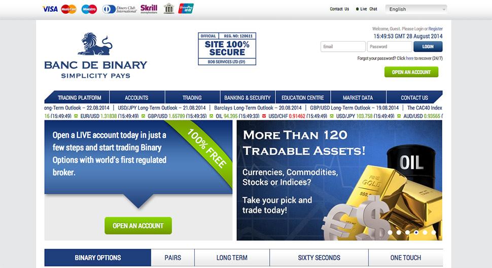 Banc de Binary screenshot