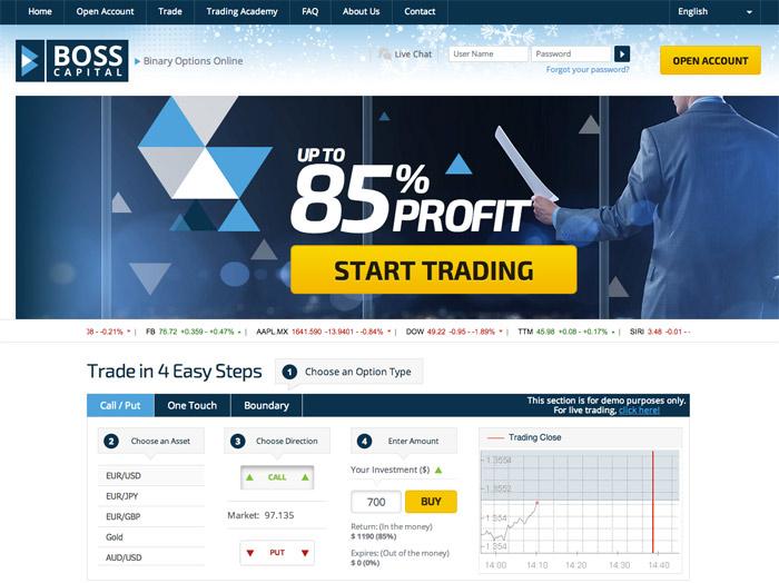 Boss Capital Screenshot