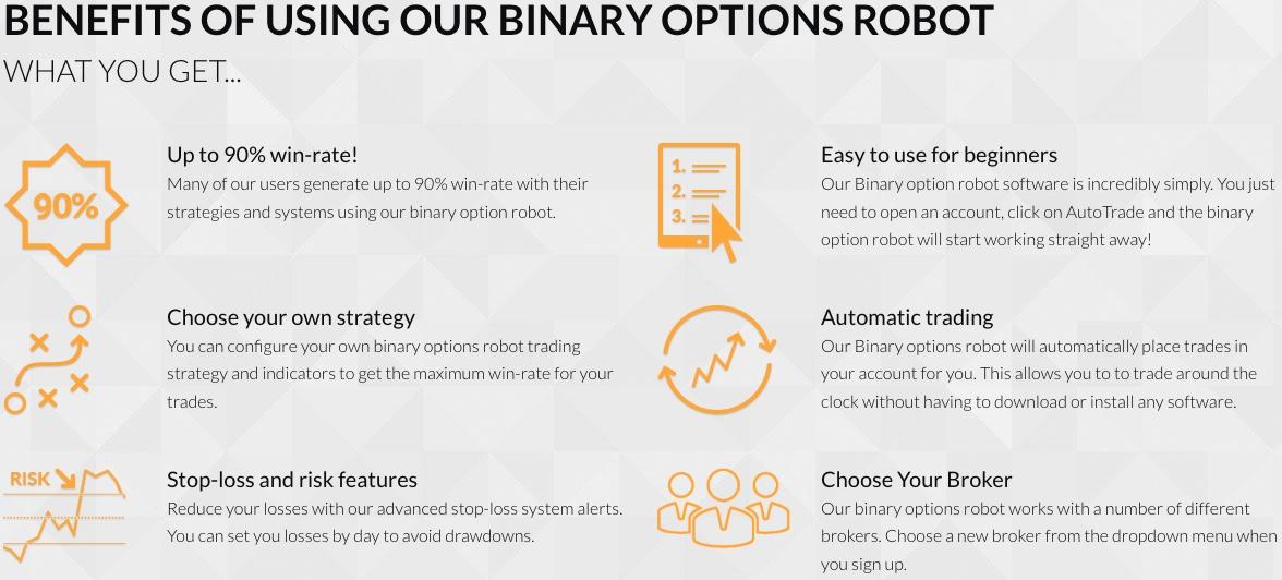 Benefits of using Binary Options Robot