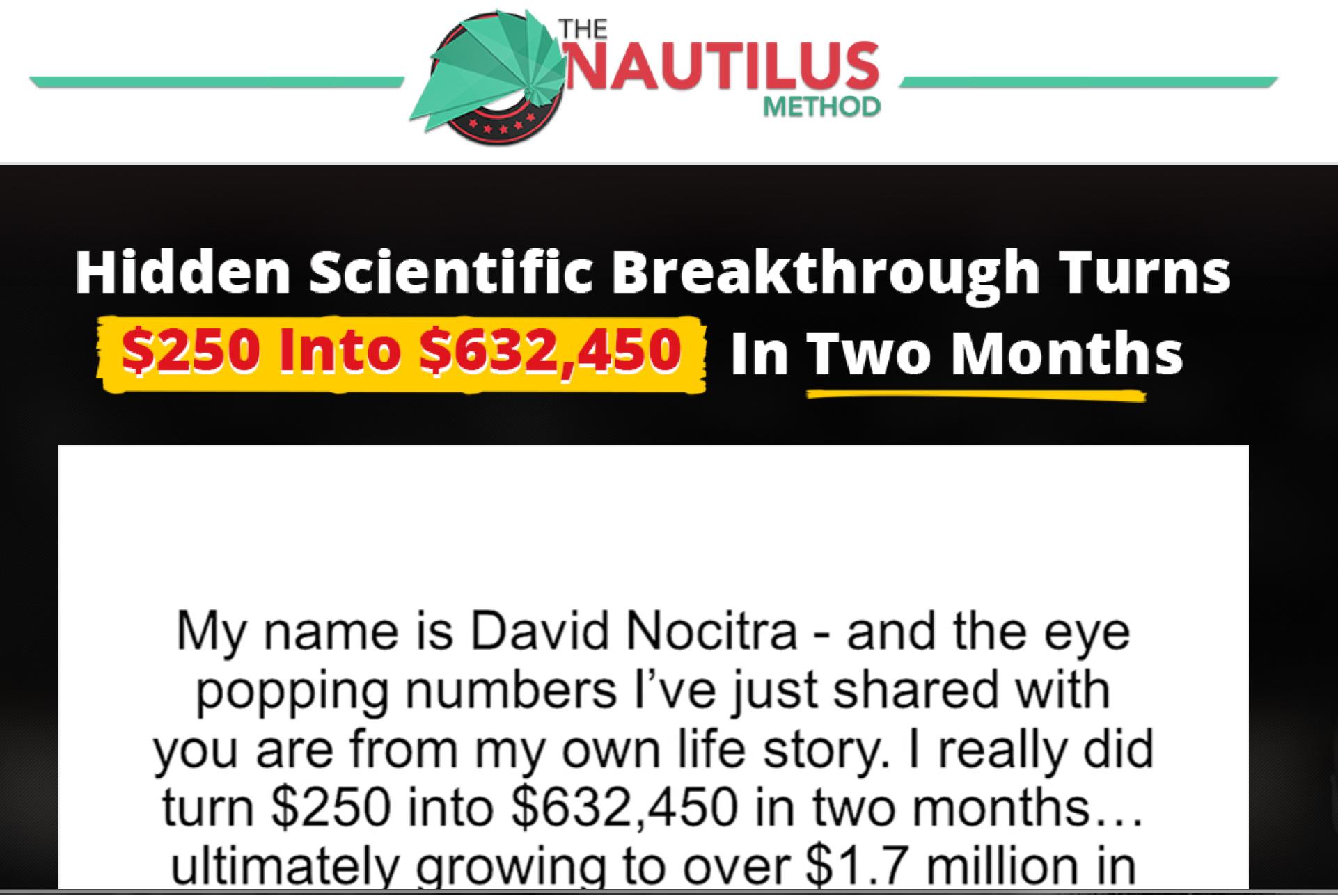 Nautilus Method Review