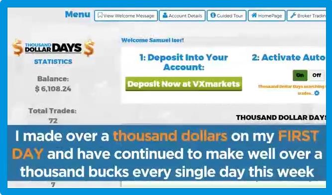 Thousand-Dollar-Days