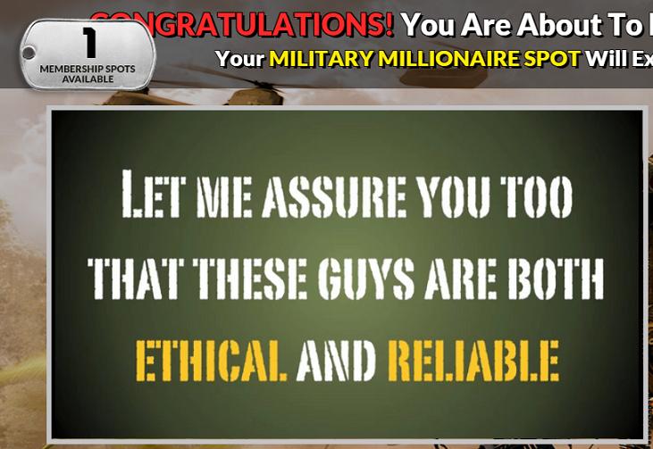 Military-Millionaire screenshot