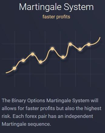 OptionRobot Martingale System