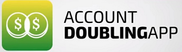 Account Doubling App Logo Review
