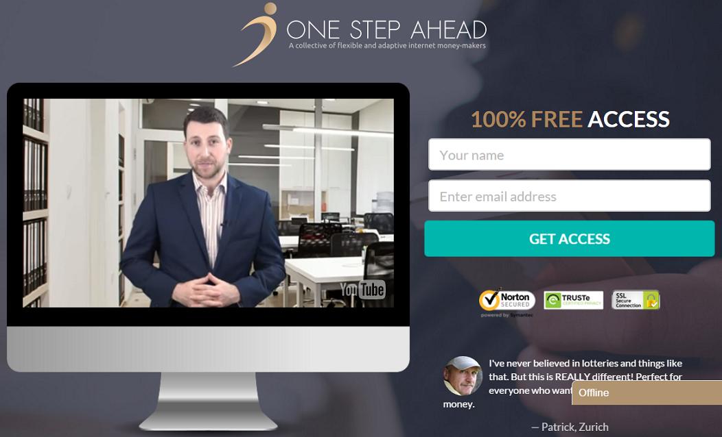 one-step-ahead-program-screenshot