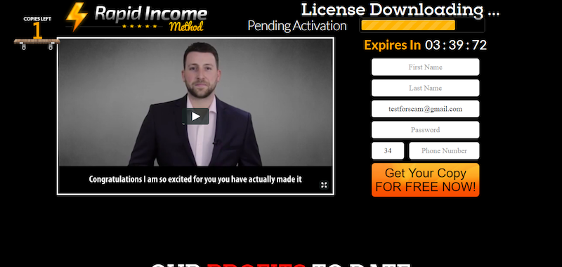 rapid-income-method-screenshot