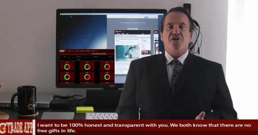 Click Trade App Screenshot