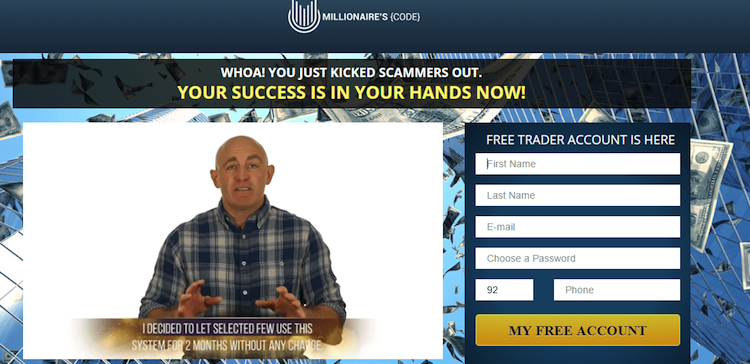 millionaires-code-screenshot