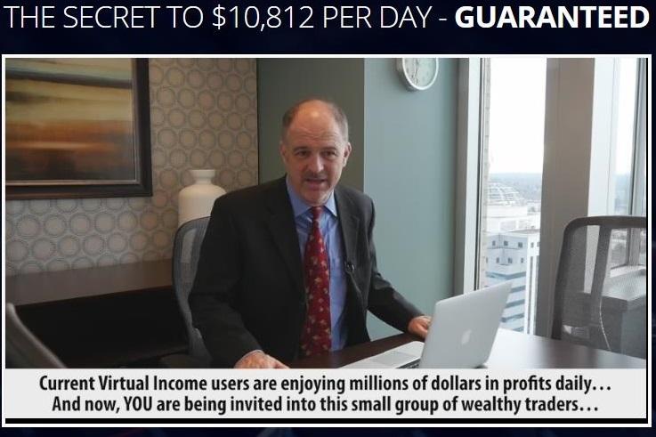 Virtual Income Screenshot