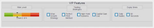 vip features