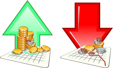 Stock Market Arrows