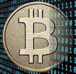 Bitcoin Stock Image 1