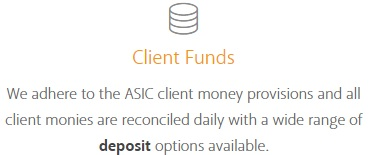 Client Funds ASIC