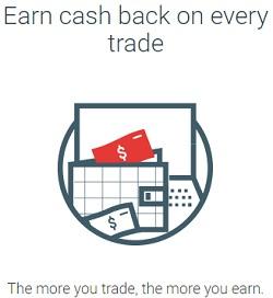 Cashback on Trades