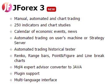 JForex Platform Overview
