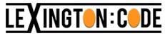 Lexington Code Logotype