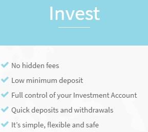 No hidden fees low minimum deposit