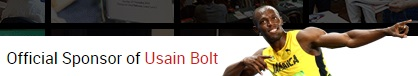 Usain Bolt Sponsor