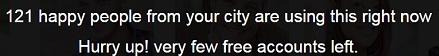 121 Accounts Left City