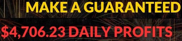 Guaranteed Daily Profits Lies