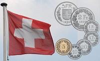Swiss Franc Flag